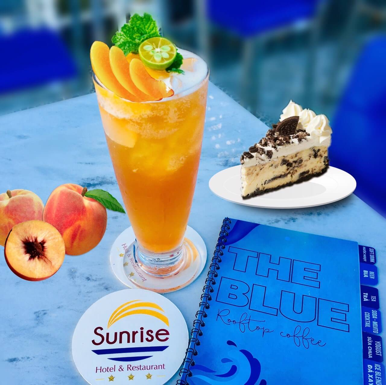 The Blue coffee Sunrise hotel